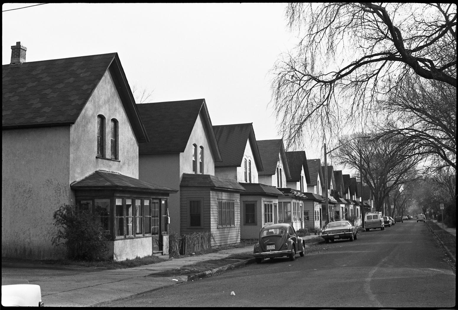 Milwaukee Avenue in 1974 (photo courtesy of Minnesota Historical Society)